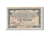France, 70 Communes, 1 Franc, 1915, TTB, Pirot:62-70
