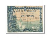 France, Remiremont, 1 Franc, 1916, TTB, Pirot:88-68