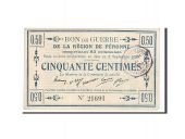 France, Peronne, 50 Centimes, 1915, SUP+, Pirot:80-413