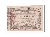 France, Laon, 2 Francs, 1916, SUP+, Pirot:02-1310