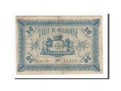 France, Mulhouse, 50 Centimes, 1918, EF(40-45), Pirot:132-1