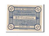 France, Vertus, 25 Centimes, 1916, SUP+, Pirot:51-53