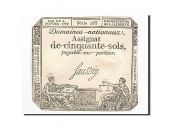 France, 50 Sols, 1792, 1792-01-04, Saussay, KM:A56, SUP, Lafaurie:151