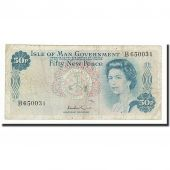 Isle of Man, 50 New Pence, undated (1969), KM:27A, TB