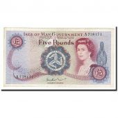 Isle of Man, 5 Pounds, Undated (1972), KM:30b, SUP