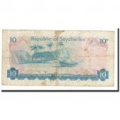 Seychelles, 10 Rupees, Undated (1976), KM:19a, B+
