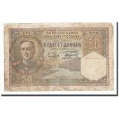 Yougoslavie, 50 Dinara, KM:28, 1931-12-01, B