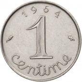 France, Épi, Centime, 1964, Paris, SUP, Stainless Steel, KM:928, Gadoury:91