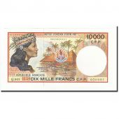 French Pacific Territories, 10,000 Francs, 1985-1996, KM:4b, NEUF
