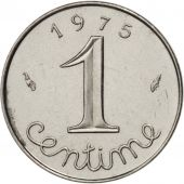 France, Épi, Centime, 1975, Paris, AU(55-58), Stainless Steel, KM:928, Gadoury91