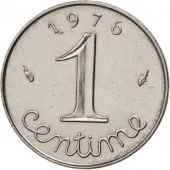 France, Épi, Centime, 1976, Paris, AU(55-58), Stainless Steel, KM:928, Gadoury91