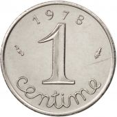 France, Épi, Centime, 1978, Paris, MS(60-62), Stainless Steel, KM:928, Gadoury91