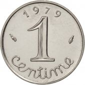 France, Épi, Centime, 1979, Paris, MS(63), Stainless Steel, KM:928, Gadoury:91