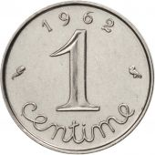 France, Épi, Centime, 1962, Paris, SUP, Stainless Steel, KM:928, Gadoury:91