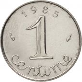 France, Épi, Centime, 1985, Paris, MS(63), Stainless Steel, KM:928, Gadoury:91
