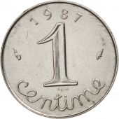 France, Épi, Centime, 1987, Paris, SUP, Stainless Steel, KM:928, Gadoury:91