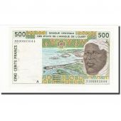 West African States, 500 Francs, 1991, KM:110Aa, UNC(65-70)