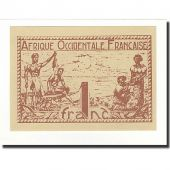 French West Africa, 1 Franc, Undated (1944), KM:34b, UNC(65-70)