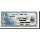 New Caledonia, 1000 Francs, Undated (1943), KM:45, F(12-15)