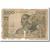 West African States, 1000 Francs, Undated (1959-65), KM:703Kg, AB
