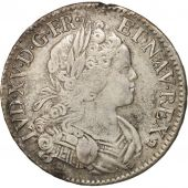France, Louis XV, Écu de France-Navarre, Ecu, 1718, Orléans, VF(30-35), Silver