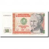 Pérou, 50 Intis, 1987-06-26, KM:131b, SPL+