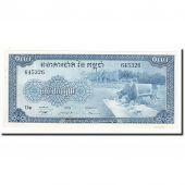 Cambodge, 100 Riels, Undated (1956-72), KM:13b, TTB+