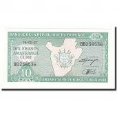 Burundi, 10 Francs, 1997-02-05, KM:33d, NEUF