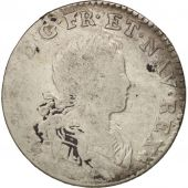 France, Louis XV, 1/6 Écu (XX – S) de France-Navarre, 1719, Paris, KM 440.1