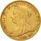 Australie, Victoria, Sovereign, 1895, Melbourne, TTB, Or, KM:13