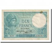 France, 10 Francs, 10 F 1916-1942 Minerve, 1940-10-24, VF(20-25)