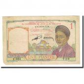 Billet, FRENCH INDO-CHINA, 1 Piastre, Undated (1953), KM:92, TTB
