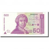 Billet, Croatie, 500 Dinara, 1991-10-08, KM:21a, NEUF