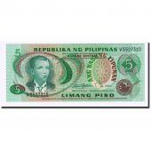 Billet, Philippines, 5 Piso, Undated, Undated, KM:160b, NEUF