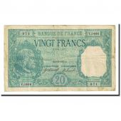 France, 20 Francs, 20 F 1916-1919 Bayard, 1917-12-01, VF(30-35)