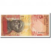 Billet, Venezuela, 5 Bolivares, 2007-03-20, KM:89a, NEUF
