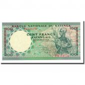 Billet, Katanga, 100 Francs, 1962-09-15, KM:12a, NEUF