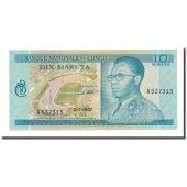 Billet, Congo Democratic Republic, 10 Makuta, 1967-01-02, KM:9a, NEUF