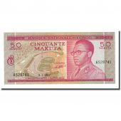 Billet, Congo Democratic Republic, 50 Makuta, 1967-01-02, KM:11a, NEUF