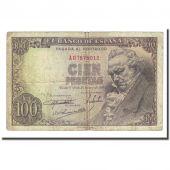 Banknote, Spain, 100 Pesetas, 1946-02-19, KM:131a, VF(20-25)