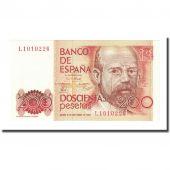 Billet, Espagne, 200 Pesetas, 1980-09-16, KM:156, NEUF