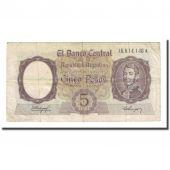 Billet, Argentine, 5 Pesos, undated (1960-62), KM:275a, TB