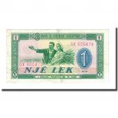 Banknote, Albania, 1 Lek, 1976, KM:40a, EF(40-45)