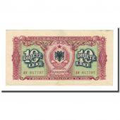 Billet, Albania, 10 Lekë, 1949, KM:24, TTB