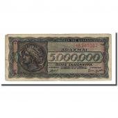 Banknote, Greece, 5,000,000 Drachmai, 1944-07-20, KM:128a, F(12-15)
