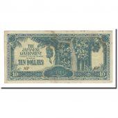 Banknote, MALAYA, 10 Dollars, Undated (1944), KM:M7c, VF(20-25)