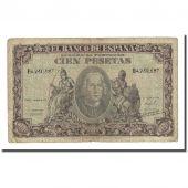 Billet, Espagne, 100 Pesetas, 1940-01-09, KM:118a, B+