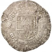 FRENCH STATES, BURGUNDY, Philip IV, Patagon, 1625, Dole, VF(30-35), Silver,KM:15