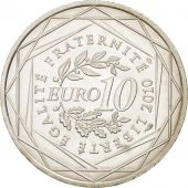 France, 10 Euro Basse-Normandie, 2010, SUP+, Argent, KM:1647