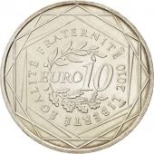 France, 10 Euro Limousin, 2010, SUP+, Argent, KM:1660